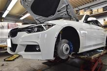 BMW330E M4ブレーキ装着!!