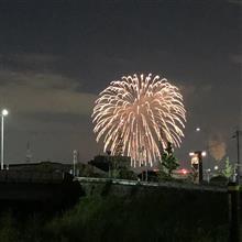 淀競馬場の花火🎇