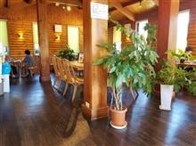 岡崎のお洒落なログハウス風カフェにてティータイムを愉しむ