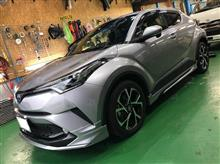 TOYOTA C-HR 電動パワーテールゲート取り付け。