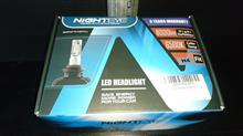 LEDヘッドライト交換!!