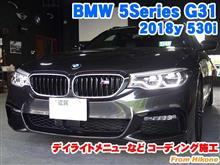 BMW 5シリーズ(G31) コーディング施工