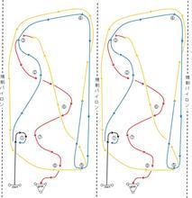 バトルジムカーナ2018 Rd.2 コース図