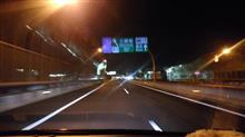 カーナビ更新して夜に新設された外環道(三郷⇒高谷JCT)をドライブ【360度動画】