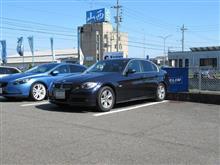 トータルアライメント調整...BMW E90 325 ビルシュタインB6ショック。