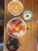 平目の漬け丼&漁師の漬け丼