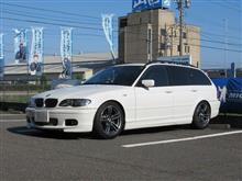 長く乗り続けるには..BMW E46 325ツーリング ビルシュタインエンジンフラッシング