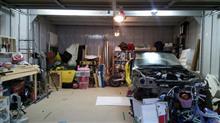 ガレージ照明追加