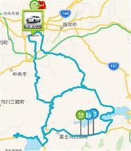 ロドスタドライブ・・・富士五湖あたりをウロチョロと(´Д` *)
