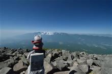 編笠山・西岳を歩く