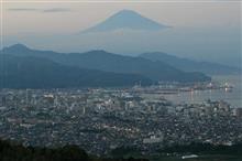 日本平で夜景鑑賞