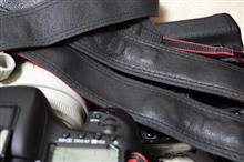 カメラストラップの磨り減り具合