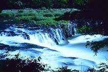 福島のナイヤガラです。また滝です。
