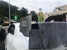 洗車タオル干しにちょうど良い✋(笑)