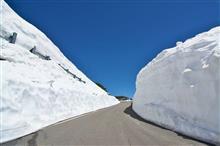 乗鞍エコーライン 雪壁