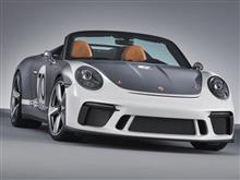 独ポルシェ、「911スピードスターコンセプト」世界初公開。ポルシェのスポーツカー誕生70周年記念