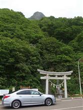 ニセコパノラマラインからの太田山神社