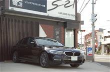 BMW5シリーズ(G30)にTVキャンセラーとドラレコ一体式レーダーを取付