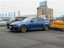 サスペンションリフレッシュ BMW F80 M3 ザックス コイルオーバー