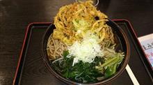 長野駅ビル内、蕎麦屋「草笛」