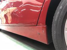 『BMW320i 板金・塗装・修理』 東京都杉並区よりご来店のお客様です。