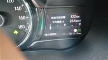 燃費が新記録