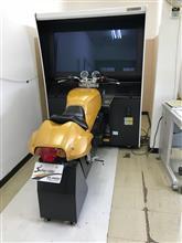シミュレータと大型スクーター(´∀`*)