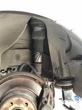 ベンツ W220 S320 エアサス交換
