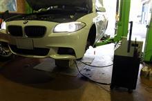 BMW F10 523 1年点検