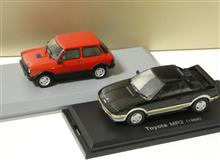 MR2 & A112アバルト ミニカー