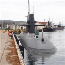 潜水艦 なるしお 寄港