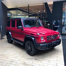 赤いGクラスの限定車