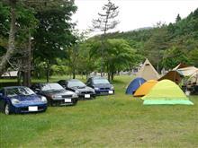 土呂部でキャンプ!