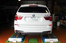 BMW F25 X3 オイルスラッジクリーン&ディーゼル専用オイル