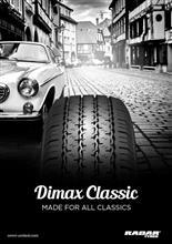 RADARの旧車向けタイヤ、RADAR Dimax Classicが入荷!