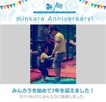祝・みんカラ歴7年?!