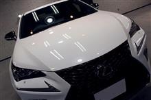 プレミアムコンパクトSUV。レクサス・NX300のガラスコーティング【リボルト岡崎】