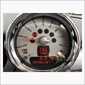 タイヤ空気圧警告システム発令