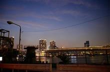 品川埠頭で撮影オフ