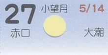 月暦 6月27日(水)