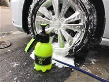 FOAM JET(フォームジェット)加圧式ハンディ洗浄機で洗車🚿🚙