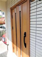 自宅玄関ドア 電磁錠 太陽電池化 (その3 )