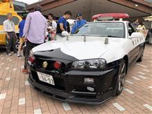 R34 GT-Rのパトカー捕獲