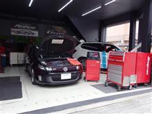 エアコン究極管理で冷房能力アップ「スナップオン/エアコンサービスステーション」ゴルフⅥ/GTI