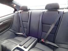Rear seats @ BMW M3 CSL