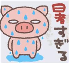 痛いのに暑いのに…(^◇^;)