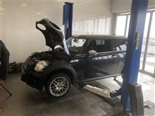 BMW MINI COOPER S 水漏れ(;'∀')