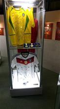 サッカー、ブラジル代表サイン入りユニフォームを展示「静岡サッカーミュージアム」入場無料