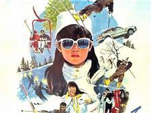私をスキーに連れてって♬そして滑って♬