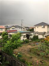 天気急変。